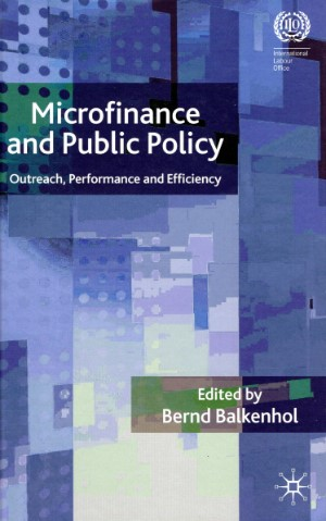 Bernd  Balkenhol - Microfinance and public policy