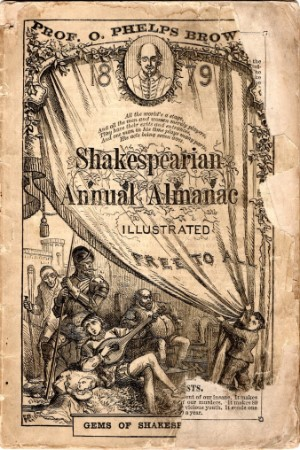 O.   Phelps Brown - Shakespearian annual almanac 1879